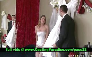 kayla paige breathtaking breasty bride