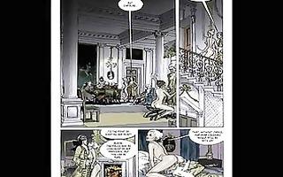 classic erotic sexual bondage comic