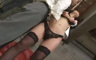 unfathomable hirsute anus sex in prison