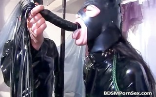 sexy dark brown sweetheart acquires in latex so